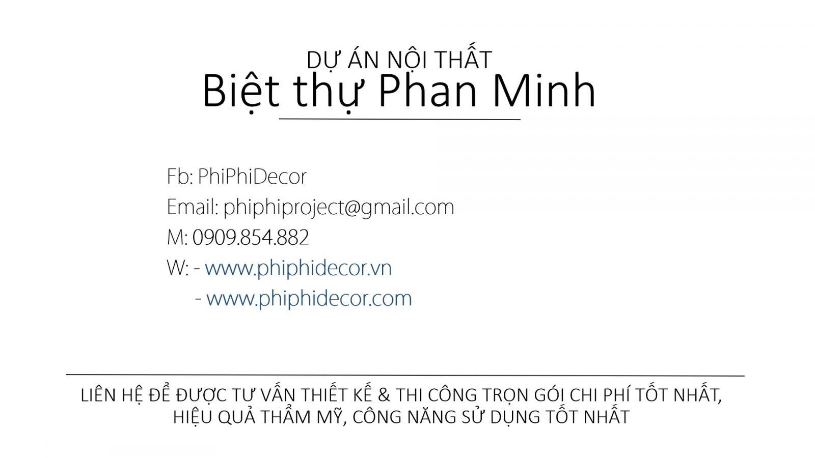 NỘI THẤT BIỆT THỰ CHỊ THẢO PHAN MINH Q. TÂN PHÚ